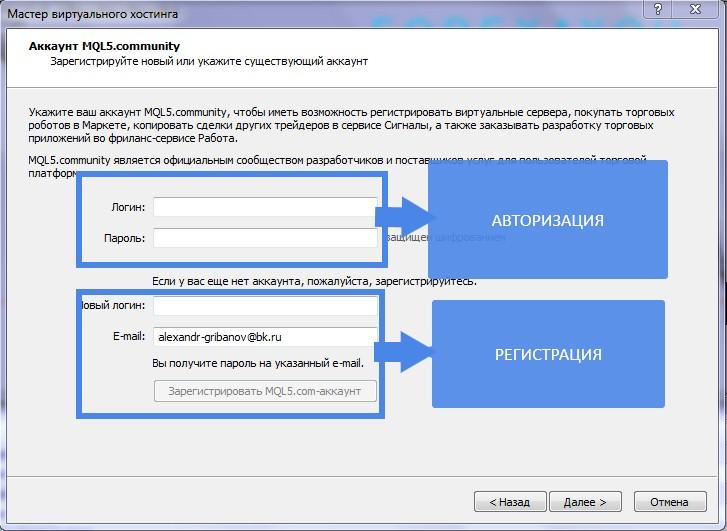 Авторизация в MQL через МТ4